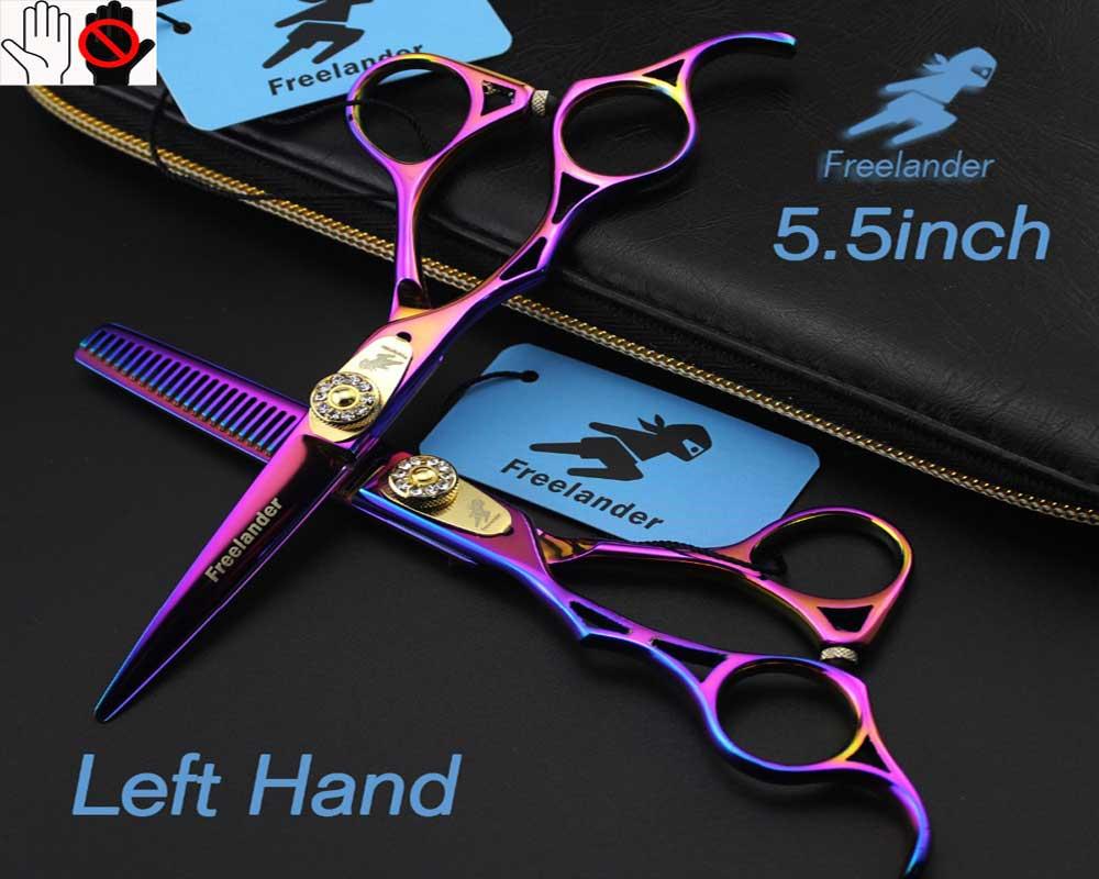 طرز کار با قیچی آرایشگری چپ دست