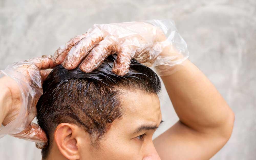 سیاه کردن موها