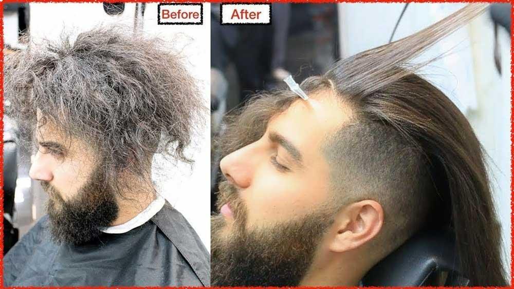 کراتینه مو در آقایان